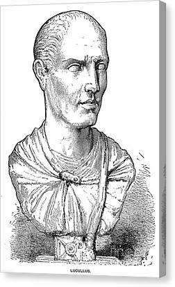 Lucius Licinius Lucullus Canvas Print by Granger