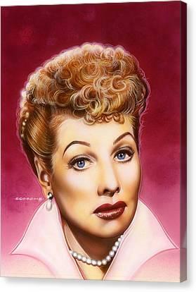 Lucy Canvas Print by Tim  Scoggins