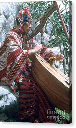 Lute Player Canvas Print by Photo Researchers, Inc.