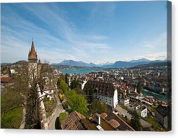 Luzern Canvas Print by Pedro Nunez Photography