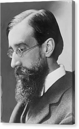 Lytton Strachey 1880-1932 English Canvas Print by Everett