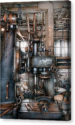 Machinist - My Really Cool Job Canvas Print by Mike Savad