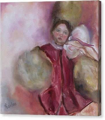 Madame Alexander Cisette Doll Canvas Print by Susan Hanlon