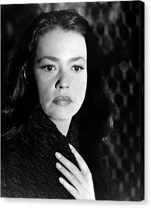 Mademoiselle, Jeanne Moreau, 1966 Canvas Print by Everett