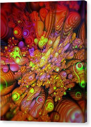 Maelstrom Of Emotion Canvas Print by Mimulux patricia no