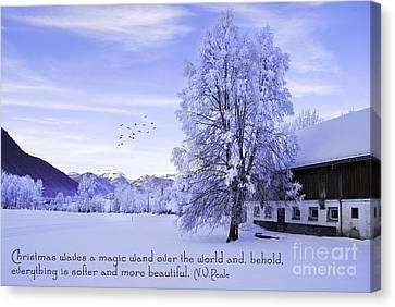 Magic Wand Canvas Print by Sabine Jacobs