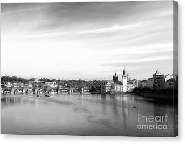 Magical Prague Canvas Print by Ivy Ho