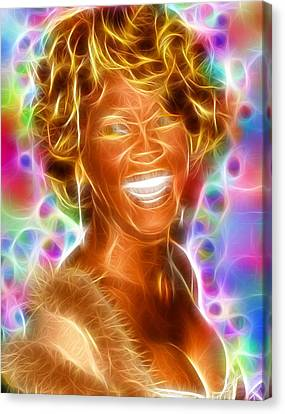 Magical Whitney Canvas Print by Paul Van Scott