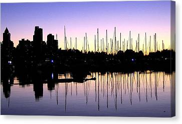 Magnificent Vancouver Sunset Canvas Print by Will Borden