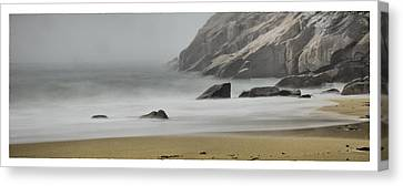 Maine Coast Canvas Print by Chad Tracy