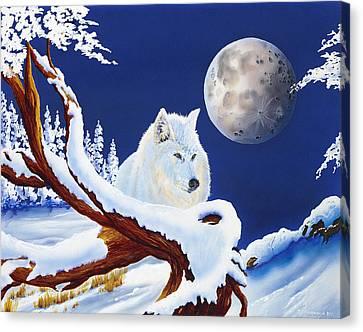 Majestic Canvas Print by Deborah Ellingwood