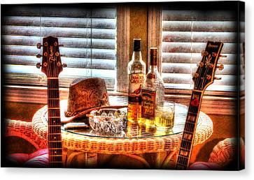 Making Music 001 Canvas Print by Barry Jones