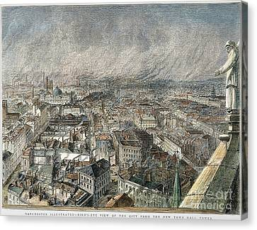 Manchester, England, 1876 Canvas Print by Granger