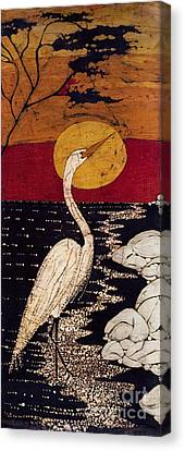 Mano's Egret Canvas Print by Alexandra  Sanders