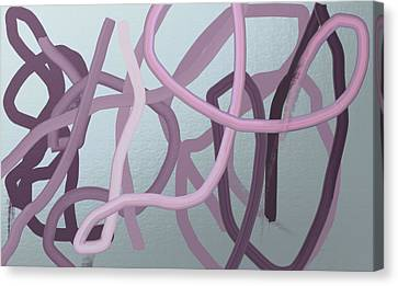 Many Strands -- One Knot Canvas Print by Naomi Susan Schwartz Jacobs