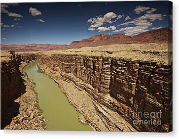 Marble Canyon, Arizona, Usa Canvas Print by Terry Moore