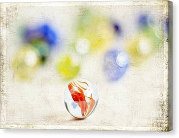 Marbles Canvas Print by Darren Fisher
