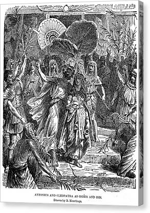 Marc Antony & Cleopatra Canvas Print by Granger