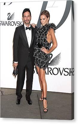 Marc Jacobs, Victoria Beckham Wearing Canvas Print by Everett