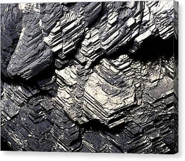 Marcasite Mineral Canvas Print by Dirk Wiersma