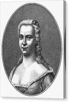 Margareta Moller Klopstock Canvas Print by Granger