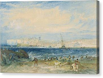 Margate Canvas Print by Joseph Mallord William Turner