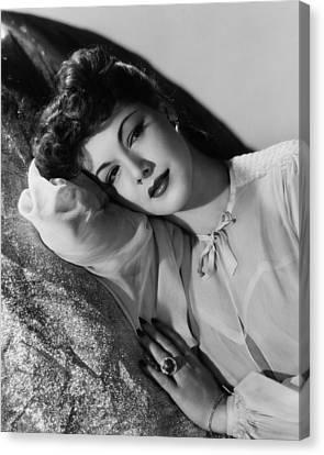 Maria Montez, 1943 Canvas Print by Everett