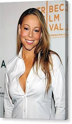 Mariah Carey At Arrivals For Tennessee Canvas Print by Everett