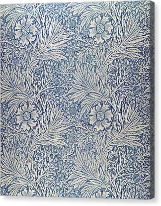 Marigold Wallpaper Design Canvas Print by William Morris