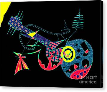 Mariposa Canvas Print by Jose Vasquez