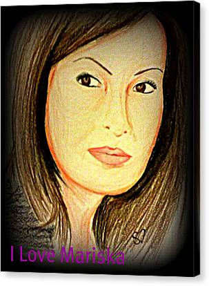 Mariska  Canvas Print by Shreena Dew