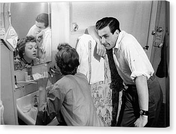 Marriage Trouble Canvas Print by Kurt Hutton
