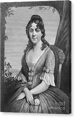 Martha Jefferson Randolph Canvas Print by Granger