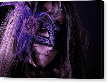 Mask Canvas Print by Joana Kruse
