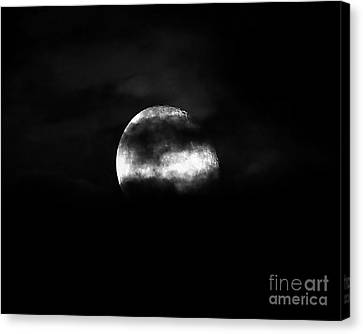 Masked Moon Canvas Print by Al Powell Photography USA