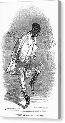 Master Juba (c1825-c1852) Canvas Print by Granger