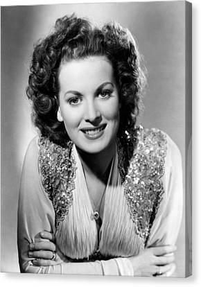Maureen Ohara, Rko, 1940 Canvas Print by Everett