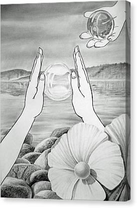 Meditation  Canvas Print by Irina Sztukowski