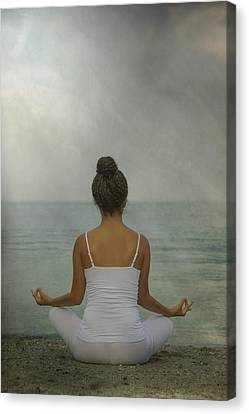 Meditation Canvas Print by Joana Kruse