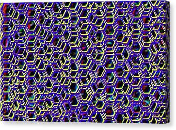 Mega Nano Structure Canvas Print by Rod Saavedra-Ferrere