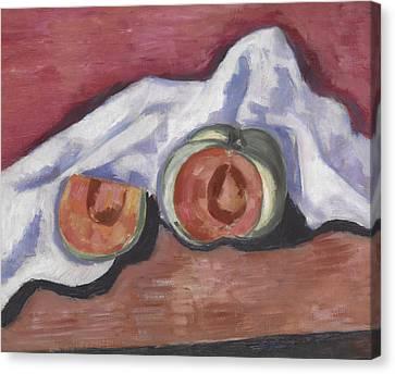 Melons Canvas Print by Marsden Hartley