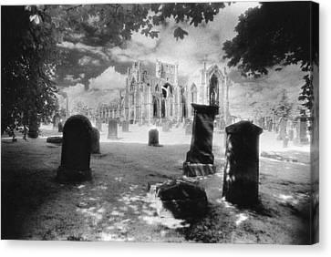 Melrose Abbey Canvas Print by Simon Marsden