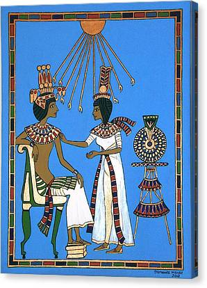 Memories Of Egypt Canvas Print by Stephanie Moore