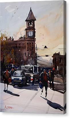 Menasha Highlights Canvas Print by Ryan Radke