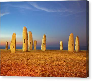 Menhirs Canvas Print by Diego Velo