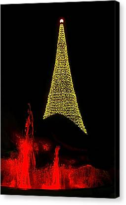 Merry Christmas ... Canvas Print by Juergen Weiss