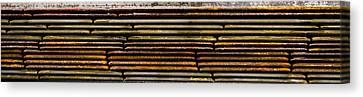 Metal Stripe  Canvas Print by Jean Noren