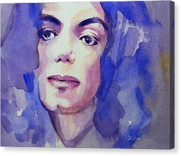 Michael Jackson - Take 5 Canvas Print by Hitomi Osanai