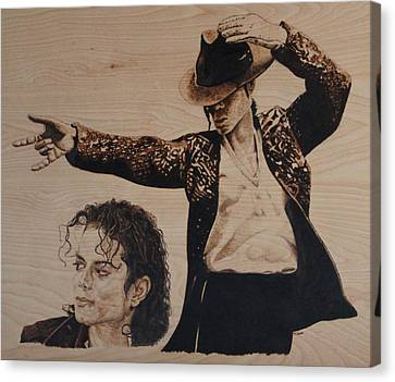 Michael Jackson Canvas Print by Michael Garbe