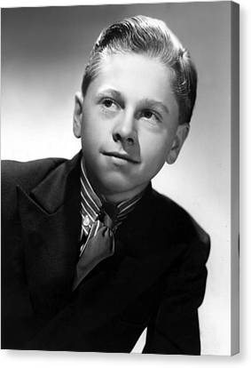 Mickey Rooney, 1936 Canvas Print by Everett